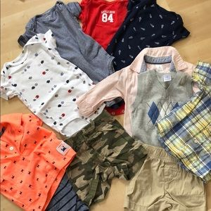 Baby boy bundle: 6 months.